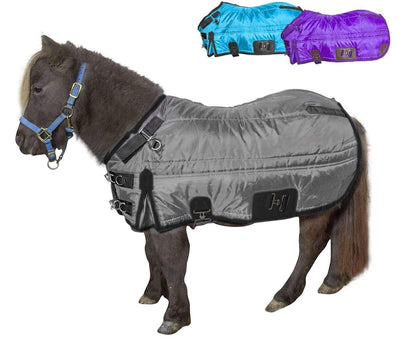 Derby Originals Wind Storm West Coast 420D Medium Weight Water Resistant Mini Horse Pony Winter Stable Blanket 200g