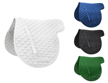 Derby Originals  All Purpose Quilted Contour English Saddle Pad