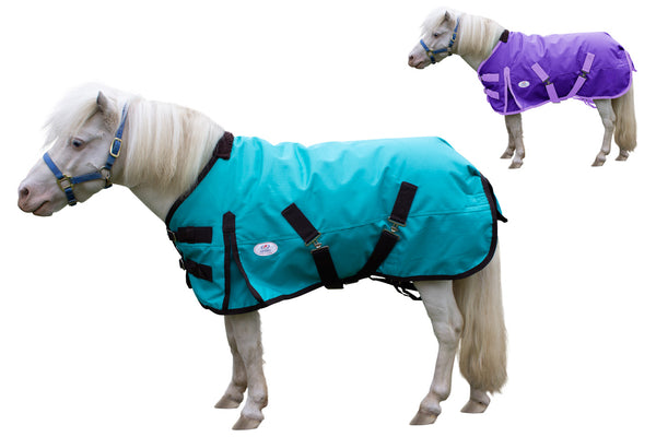 Derby Originals Extreme Elements 1200D Heavy Weight Winter Mini Horse Pony Turnout Blanket 300g