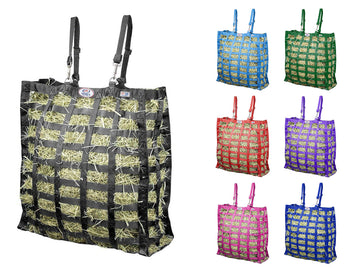 Derby Originals Supreme Slow Feed Hay Bag with 1 Year Warranty and Patented Four Sided Design
