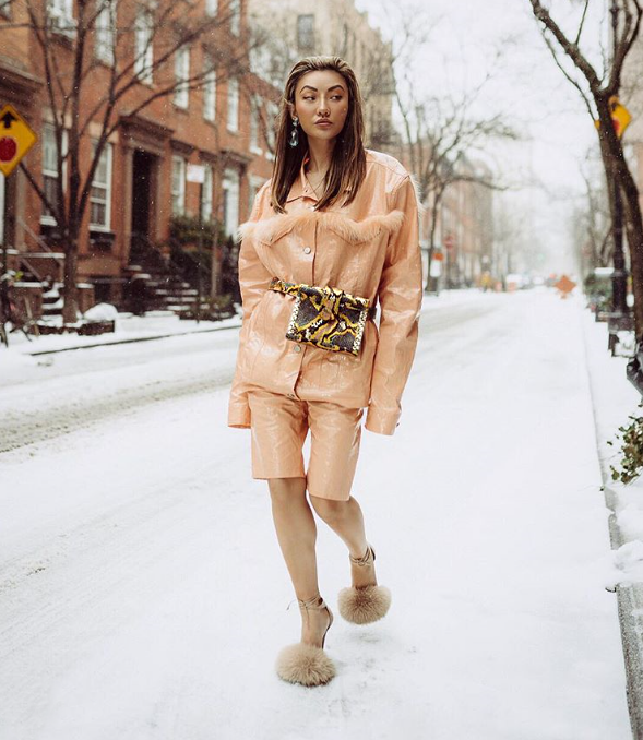 Snowy Street Style at NYFW