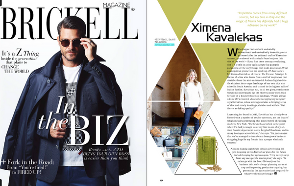 Brickell Magazine- October Issue