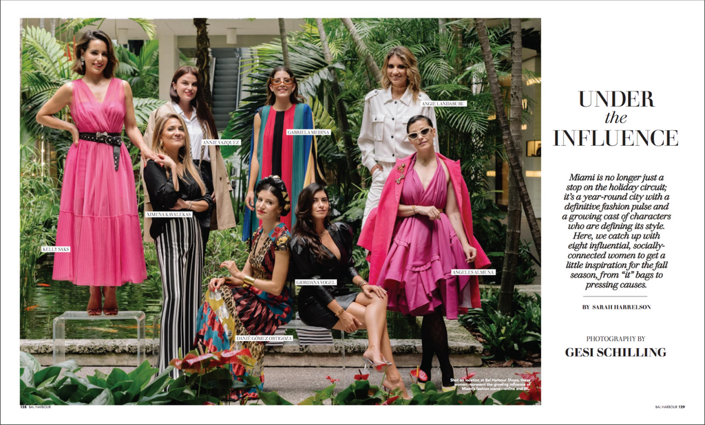 ximena kavalekas bal harbour shops magazine fall winter 2019