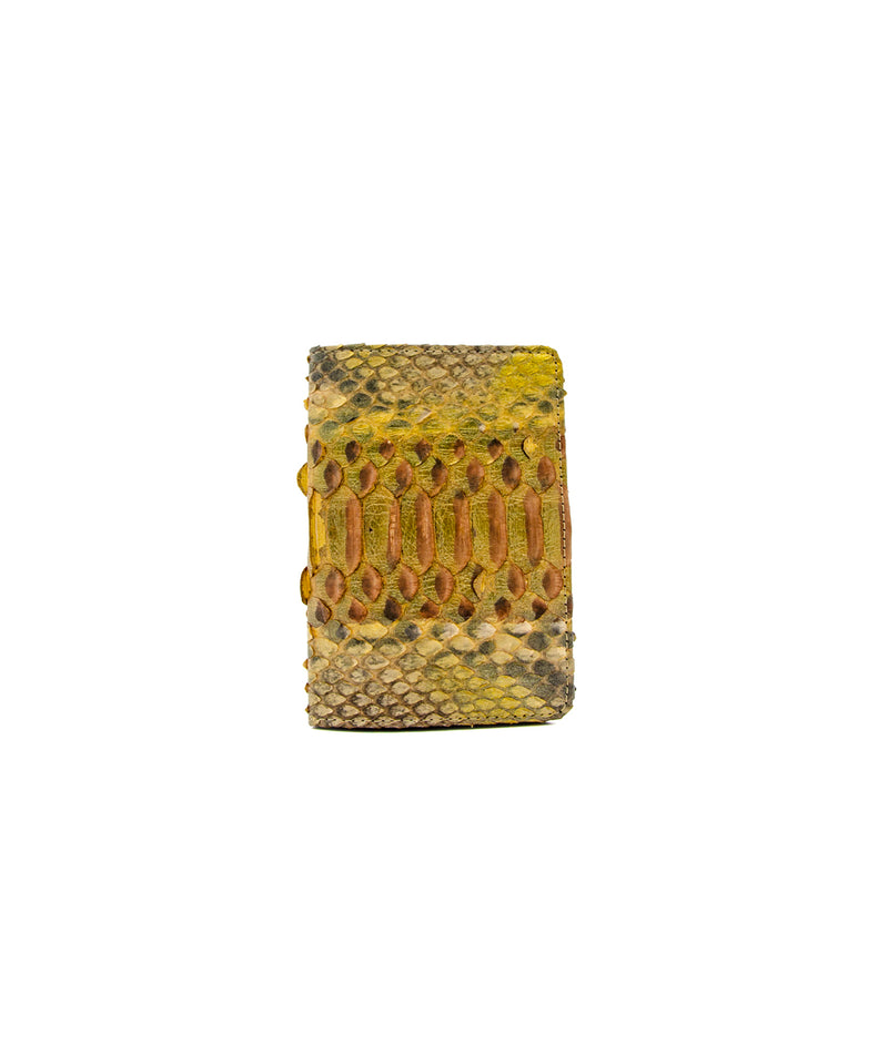 Passport Holder - Antique Gold