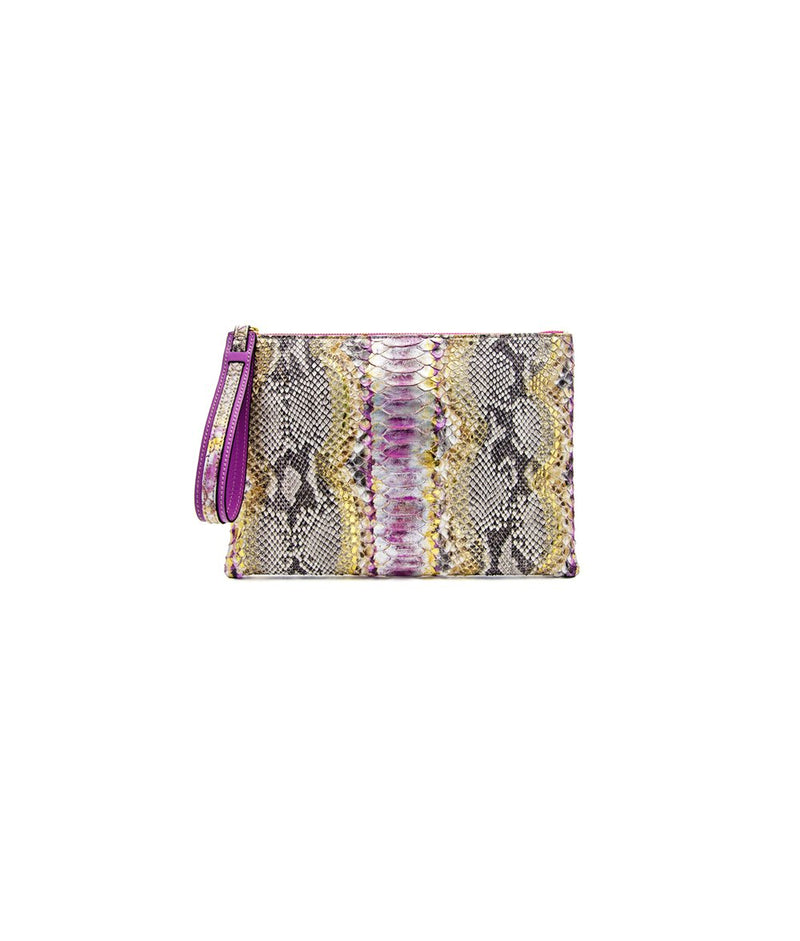 Avra V Zip Pouch - Pink Fusion