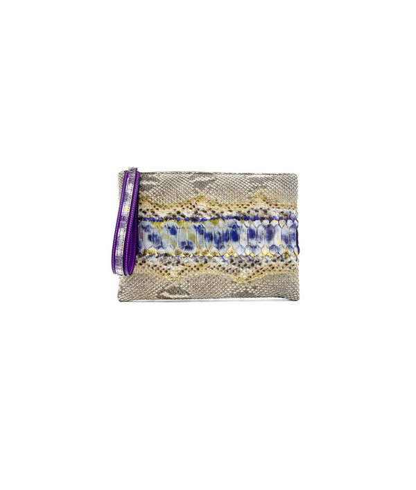 Avra Zip Pouch - Royal Purple