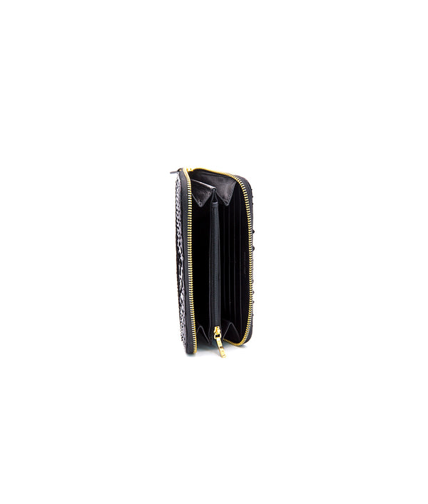 Continental Wallet - Shiny Black
