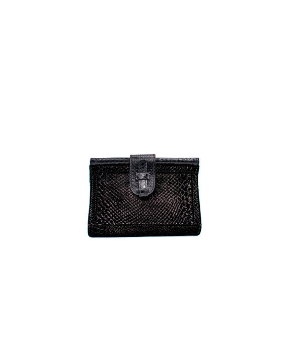 Carmen Fanny Pack Tessuto - Iridescent Black/Printed Leather