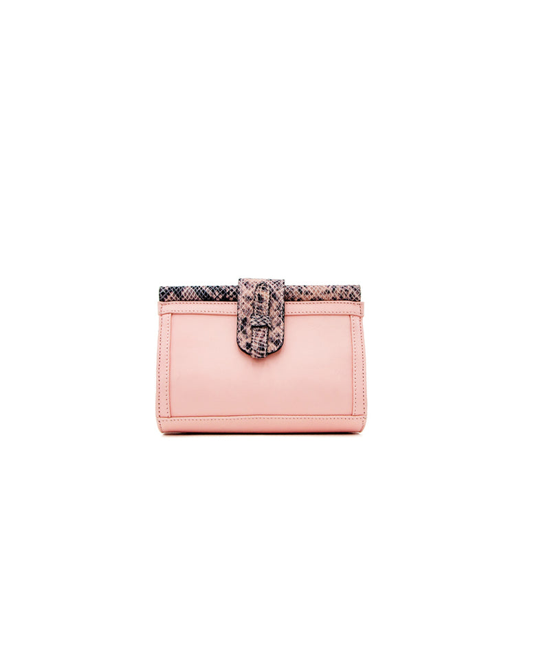 Carmen Fanny Pack LEATHER - Light Pink/Printed Leather