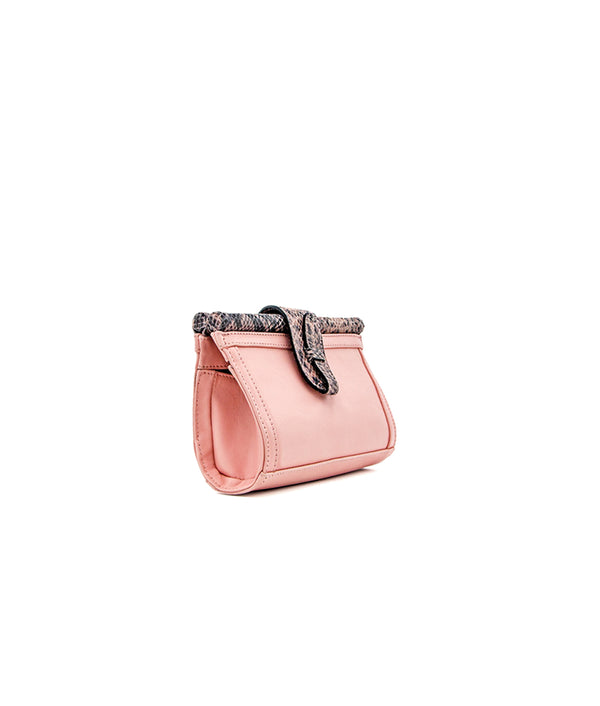 Carmen Fanny Pack (Leather) in Light Pink