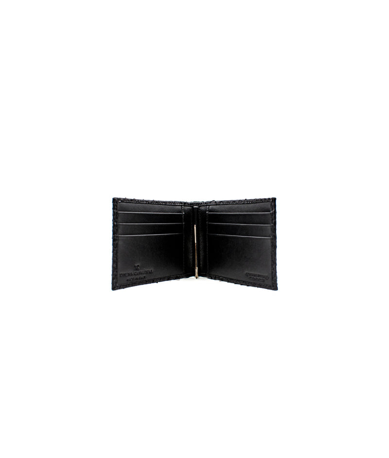 Clip Wallet in Black
