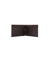 Clip Wallet in Brown