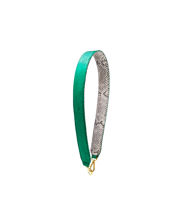 Clon Strap- Emerald Green/Natural