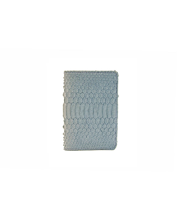 Passport Holder- Blueish Grey