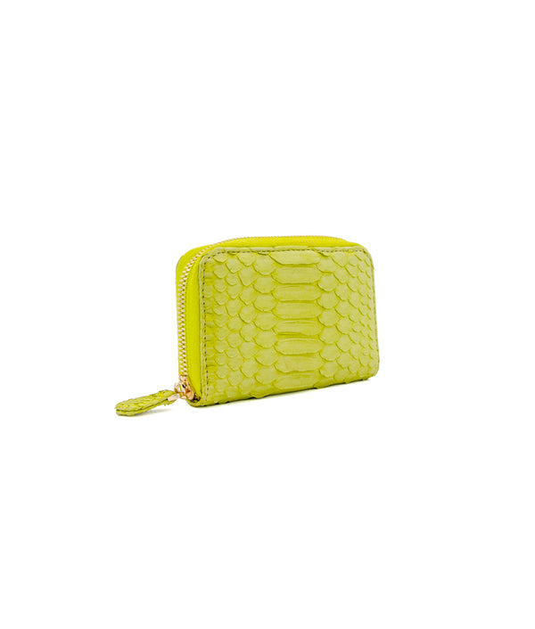 Yiya (The Mini Wallet)- Lime Green