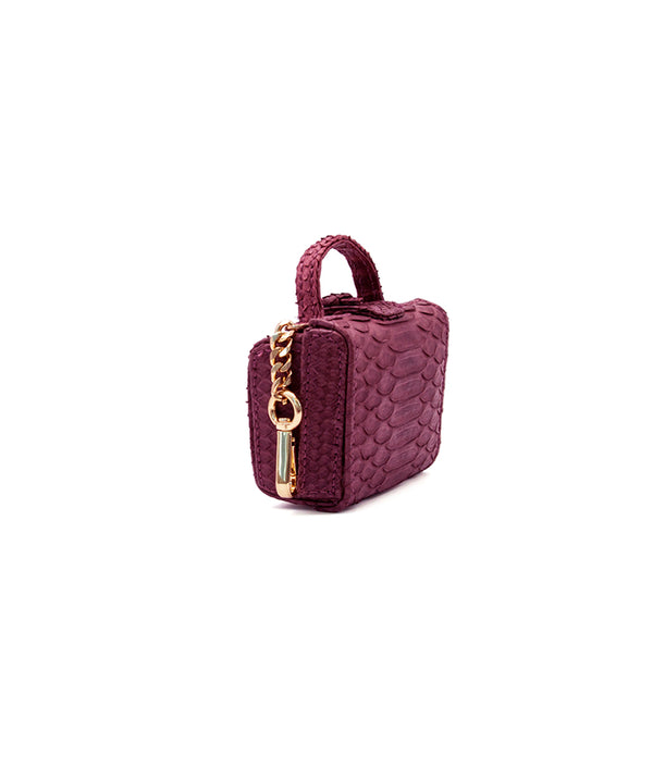 Caterina Mini in Burgundy