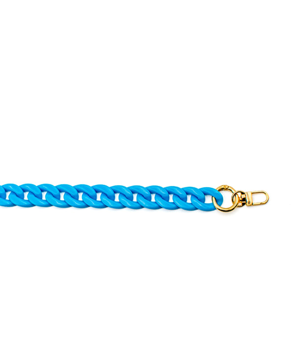 Acrylic Chain Blue Small