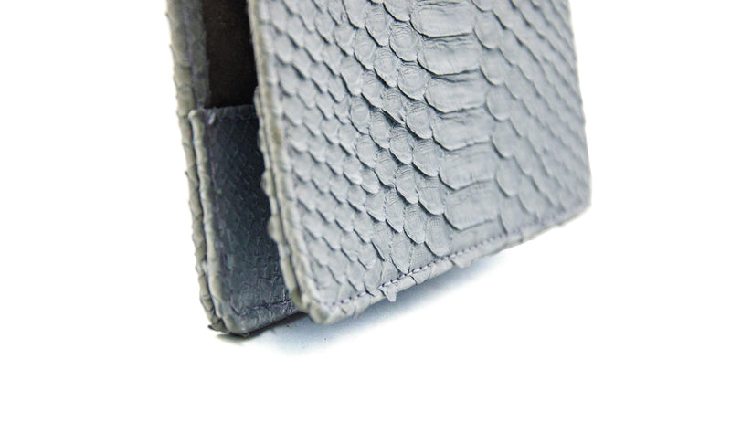 Passport Holder- Grey-Accessories-Ximena Kavalekas