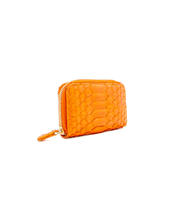 Yiya (The Mini Wallet)- Tangerine