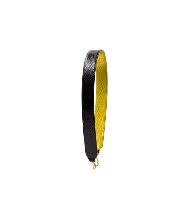 Clon Strap -Black/Gold