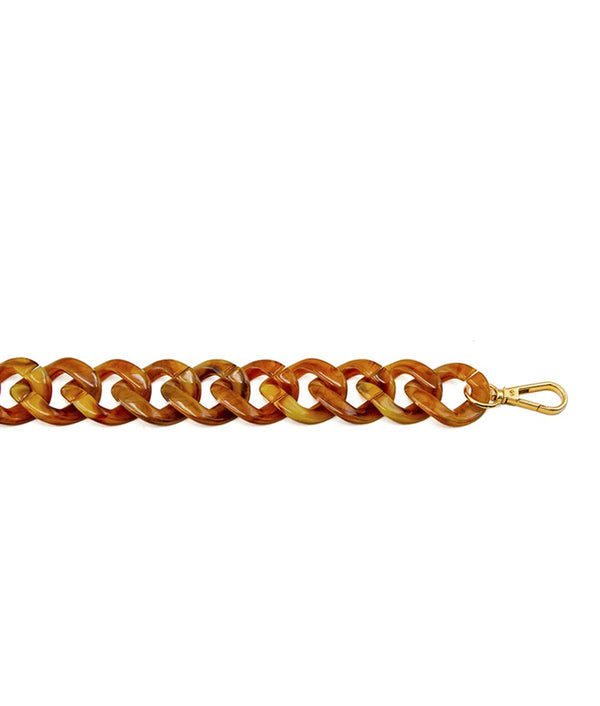 Acrylic Chain Brown