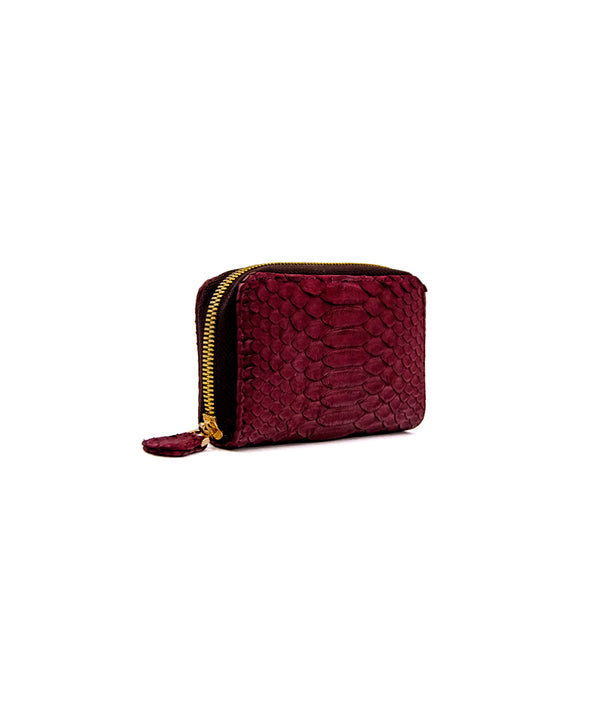 Yiya (The Mini Wallet)- Burgundy
