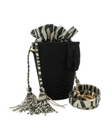 Chechi in Black/Zebra