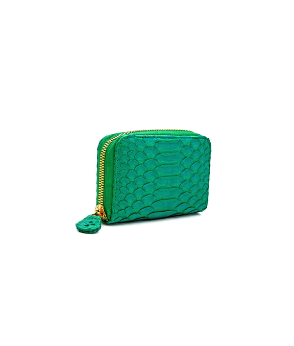 Yiya (The Mini Wallet)-Emerald Green
