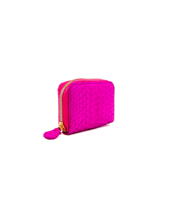 Yiya (The Mini Wallet)- Hot Pink