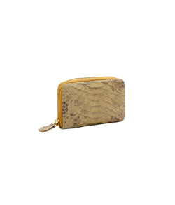 Yiya (The Mini Wallet)- Ivory Scaled