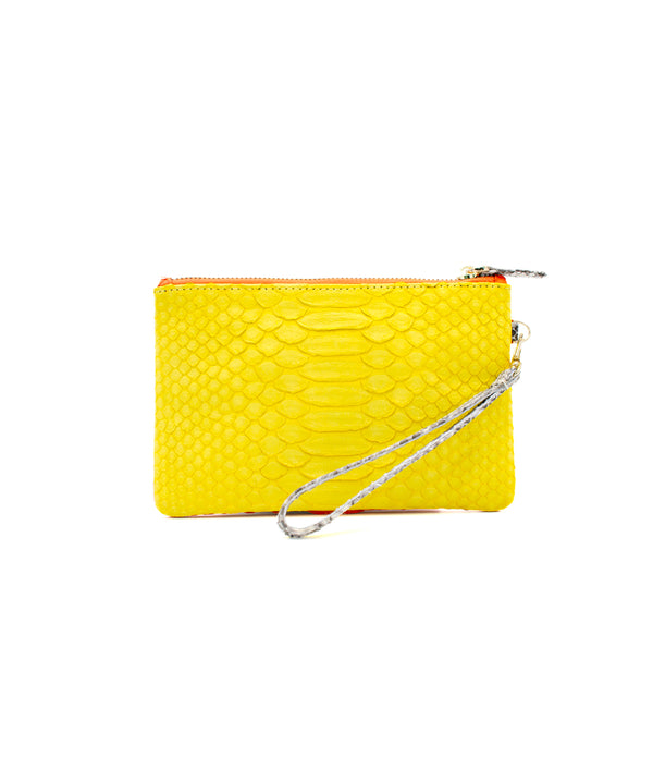 Mask Pouch - Orange/ Yellow