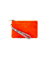 Mask Pouch in Orange/ Yellow