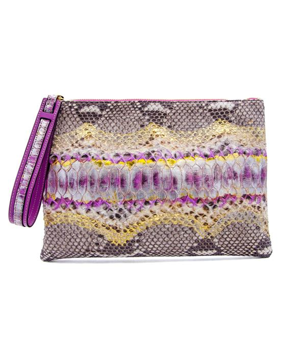 Avra Zip Pouch - Pink Fusion