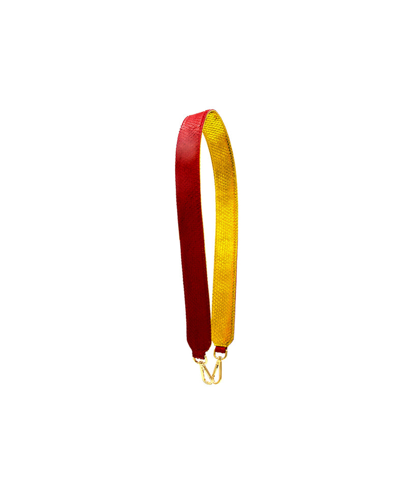 Clon Strap - Red/Gold