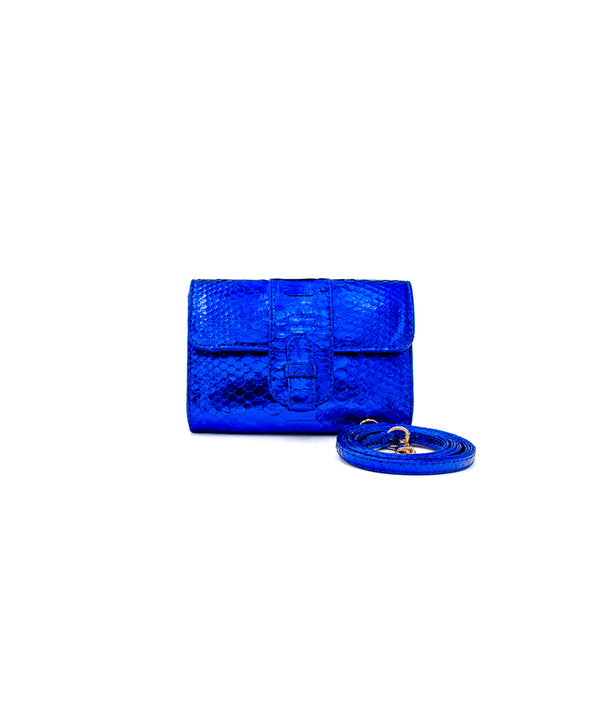 Rita (Small) - Metallic Blue