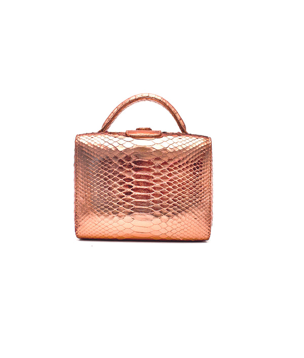 Caterina Small - Metallic  Rose Gold