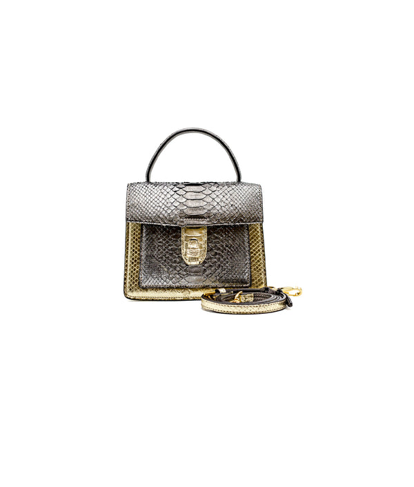 Emma Bag - Gold/Ash