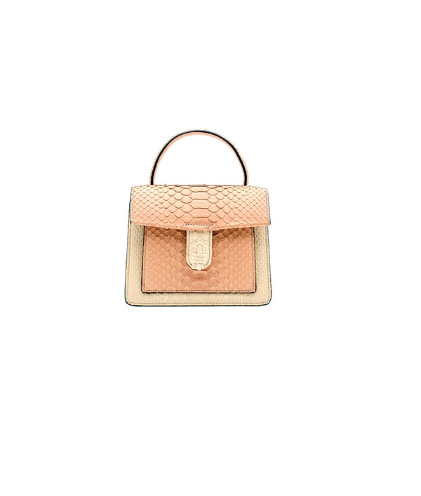 Emma Bag - Champagne/Rose