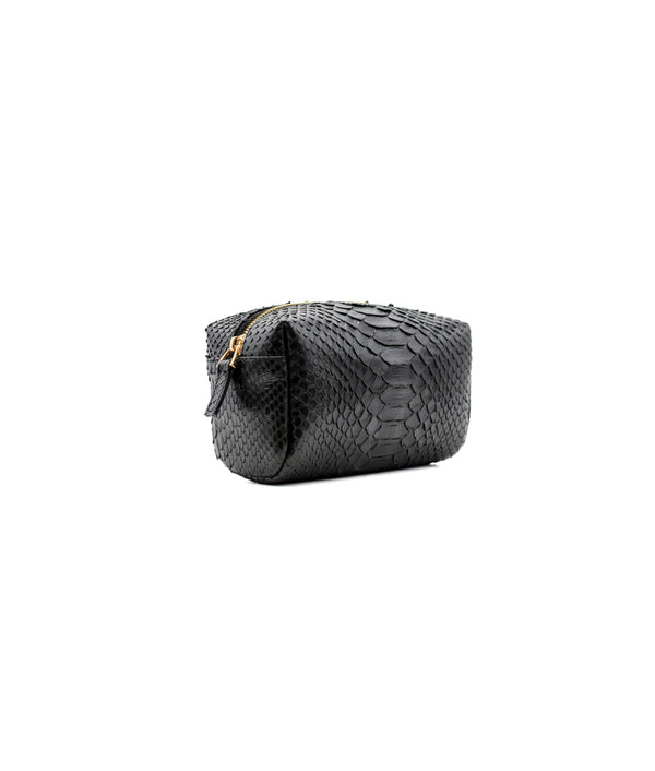 Squared Cosmetic Bag in Black