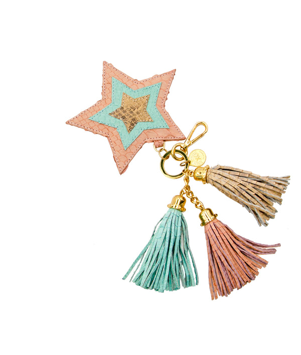 Star Charm -Millennial Pink / Pistachio / Ivory Scaled