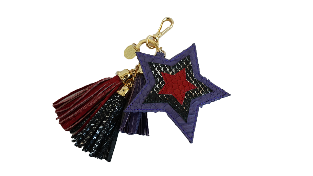 Star Charm Purple/Red