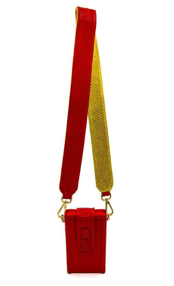 Clon Strap - Red/Gold-Accessories-Ximena Kavalekas
