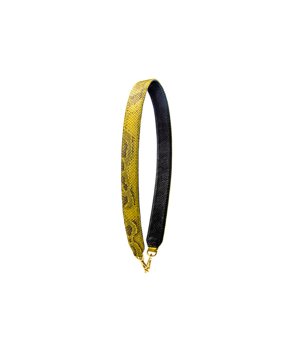 Clon Strap - Yellow Scaled/Black