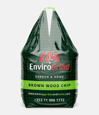 Brown Coloured Wood Chip