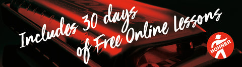 Includes 30 days of Free Online Lessons