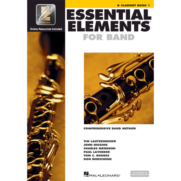Hal Leonard Essential Elements for Band – Bb Clarinet Book 1 with EEi