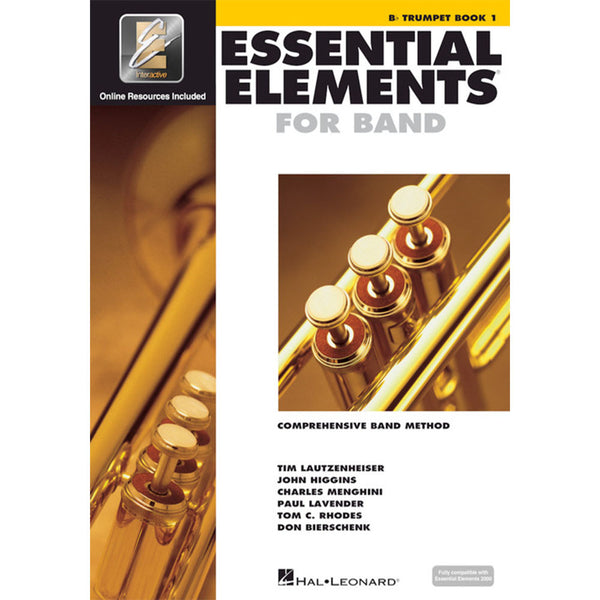 Hal Leonard Essential Elements for Band – Bb Trumpet Book 1 with EEi