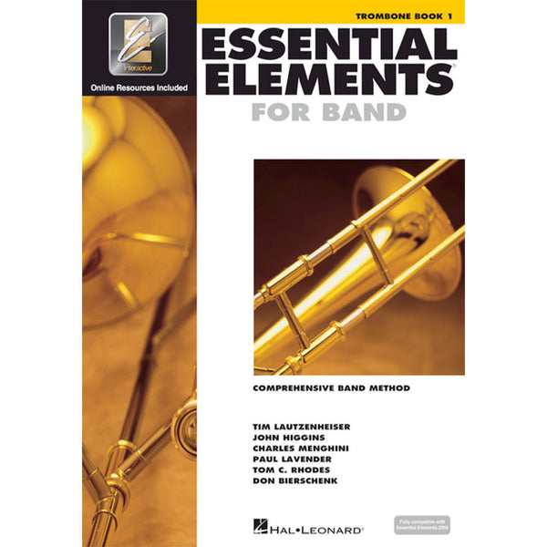 Hal Leonard Essential Elements for Band – Trombone Book 1 with EEi