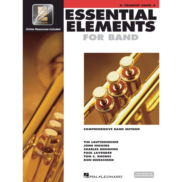 Hal Leonard Essential Elements for Band – B-Flat Trumpet Book 2 with EEi