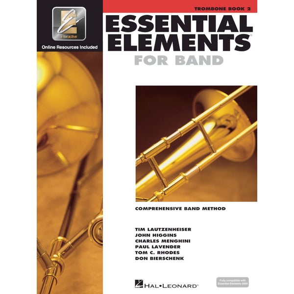 Hal Leonard Essential Elements For Band – Trombone Book 2 with EEi